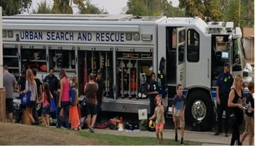 Urban search and rescue bus