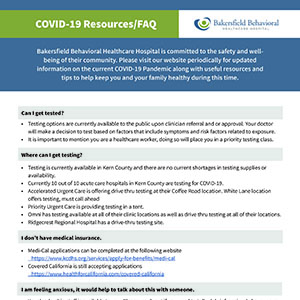 COVID-19 Resources/FAQ